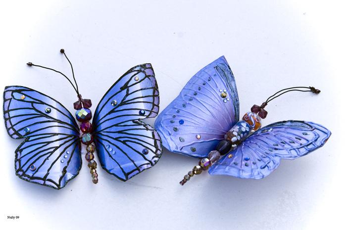 Как сделать бабочки с бутылок пластиковых