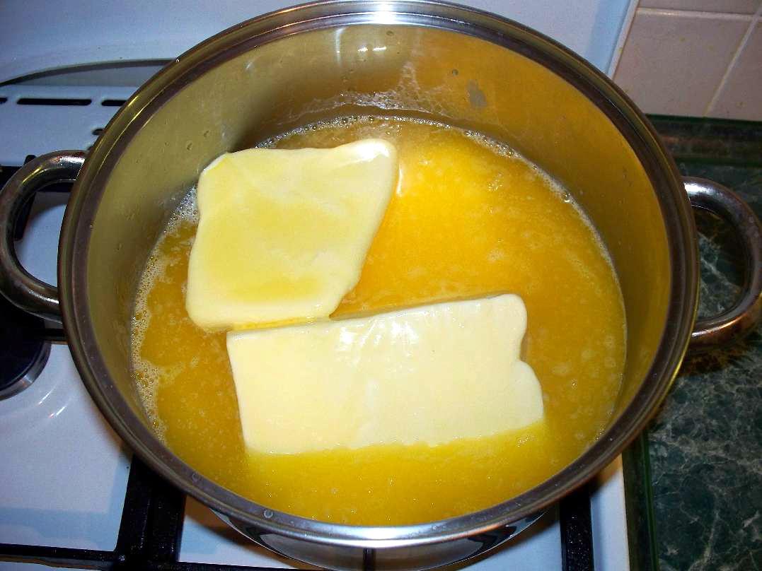 Топлёное масло в домашних условиях