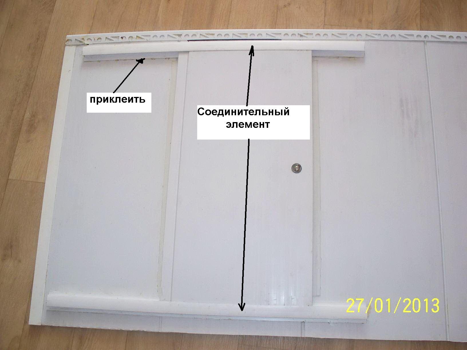 Дверцы из панелей своими руками