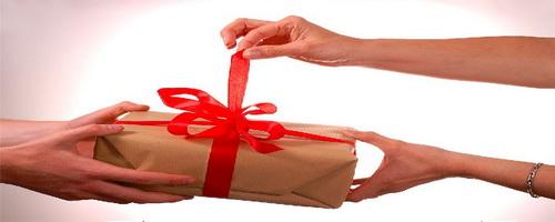 Как сделать подарки в интернете 689